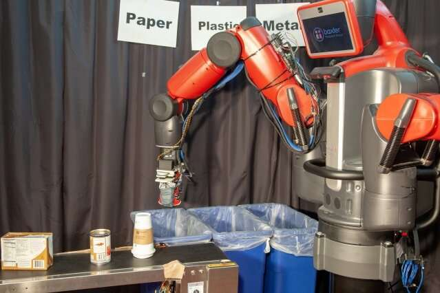 Robots that can sort recycling