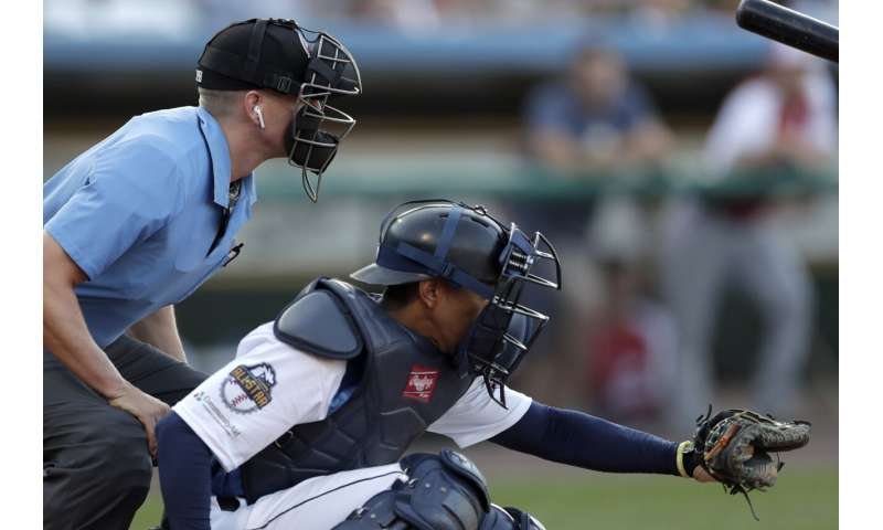 'Robot umpires' debut in independent Atlantic League