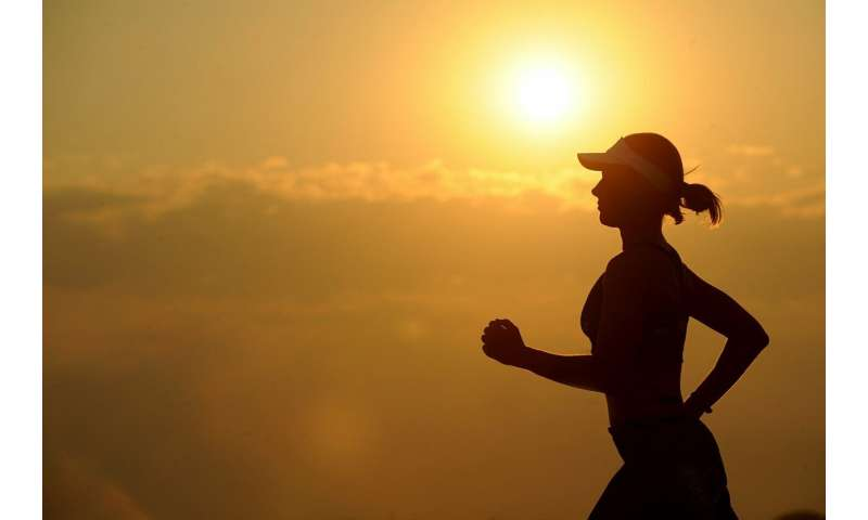 Physically active women have decreases risk of heart disease