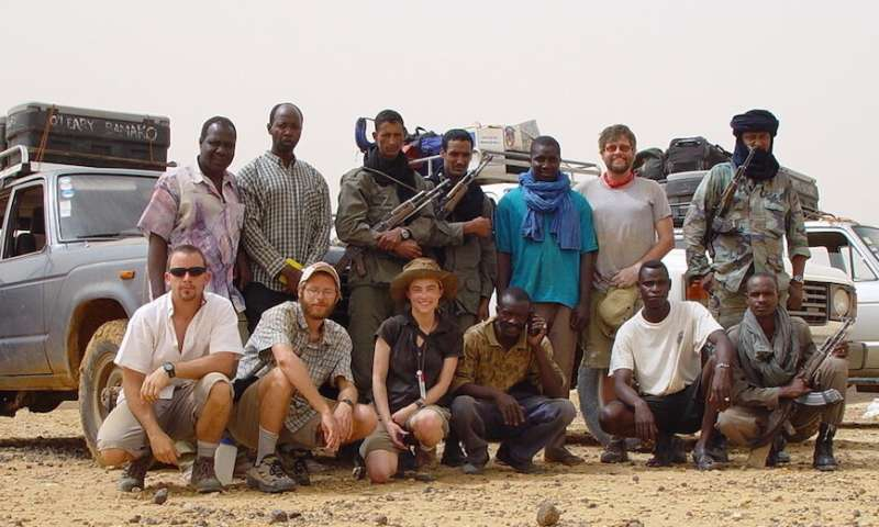 Study describes the Trans-Saharan Seaway in Mali, Africa, 50 to 100 million years ago