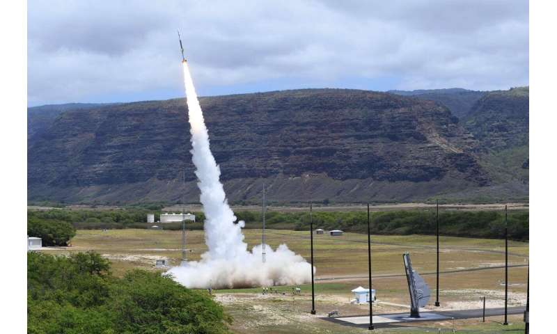 Sandia launches a bus into space