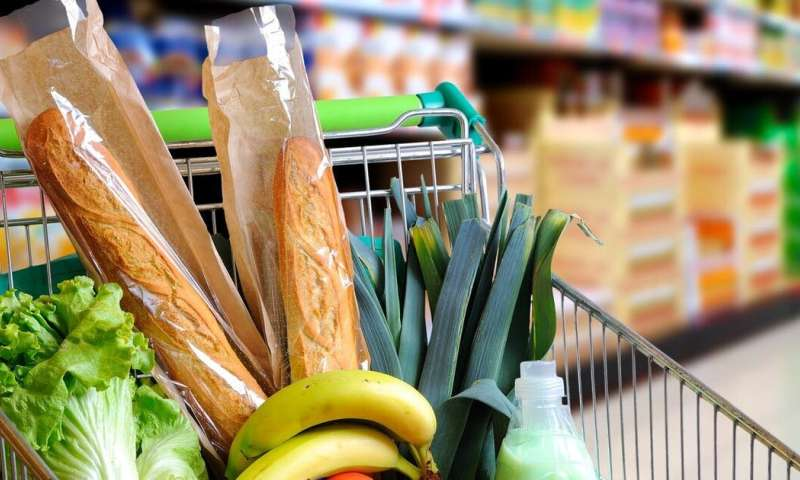 Selecting groceries ahead of time helps some shoppers make healthier choices