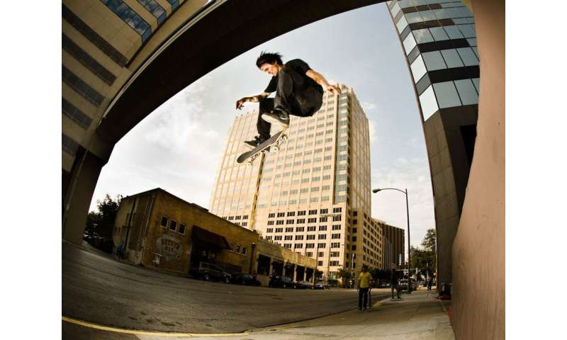 Skateboarding defies the neoliberal logic of the city by making it a playground for all