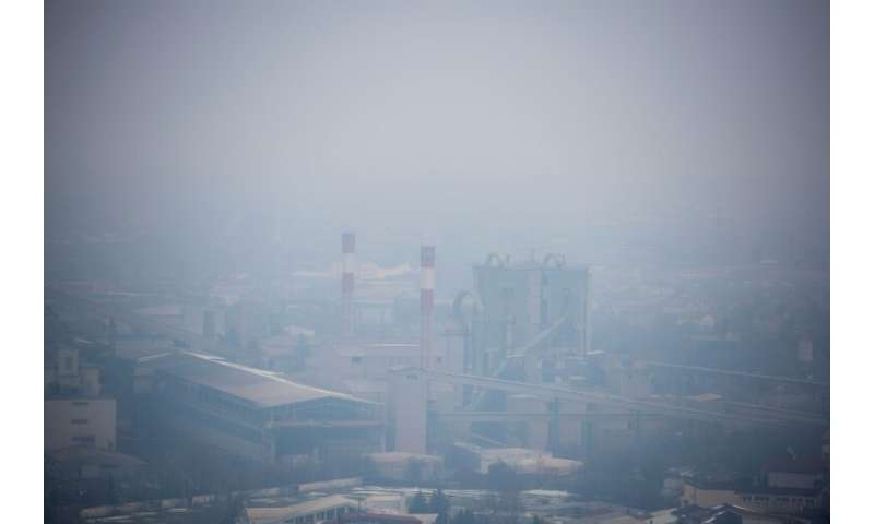 Skopje is Europe's most polluted capital, according to WHO figures