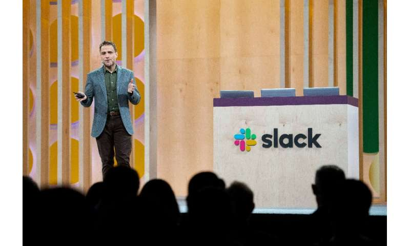 "Slack chief executive and co-founder Stewart Butterfield described the company's technologies as a ""brand new category of s"