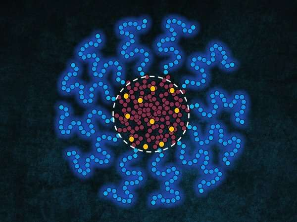 Smarter drug release thanks to control over encapsulation