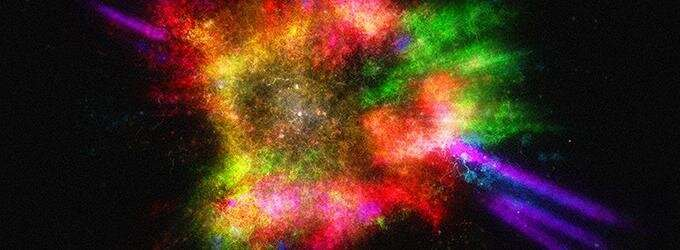 "Smithsonian Launches ""Journey through an Exploded Star"" 3D Interactive Experience"