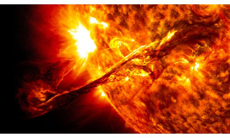 Solar activity forecast for next decade favorable for exploration