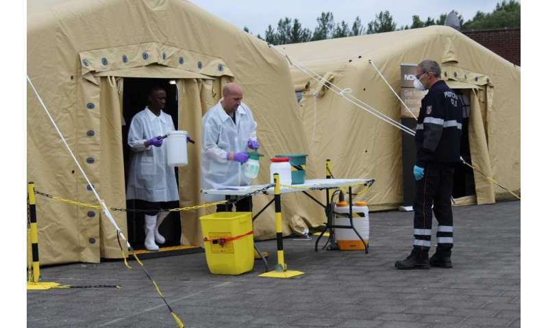 Space-enabled mobile laboratory ready for medical emergencies