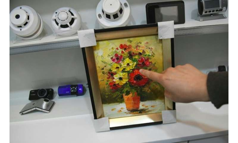 Spycams can be hidden inside a wide range of household items, including paintings, pens, smoke detectors and lighters