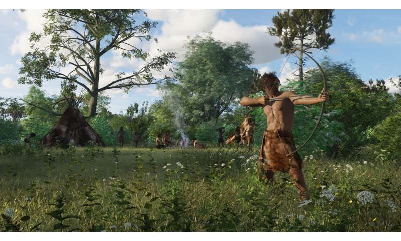 Stone tool changes may show how Mesolithic hunter-gatherers responded to changing climate