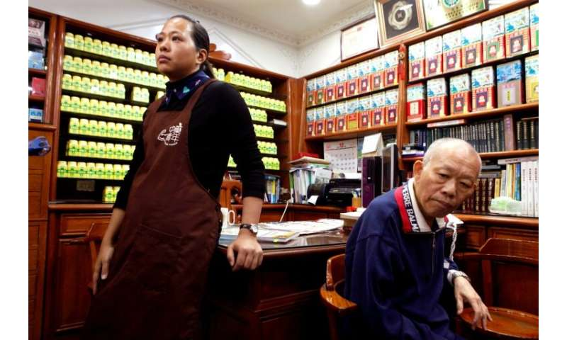 Store owners fear that unless laws change there will be no Chinese herbal medicines stores left in Taiwan