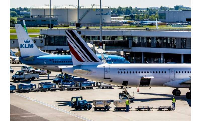 Strikes and higher fuel costs couldn't keep Air France-KLM's profits on the ground
