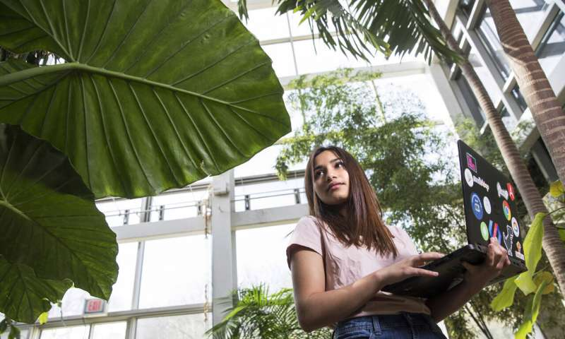 Student uses AI to diagnose plant diseases