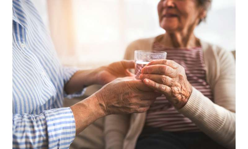 Study finds a lack of adequate hydration among the elderly
