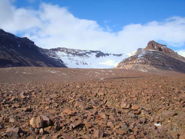 Studying erosion and weathering in one of the most extreme places on earth