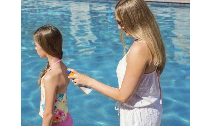 Sunscreen chemicals enter bloodstream at potentially unsafe levels:  study