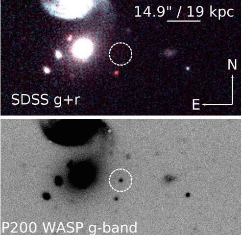 Supernova SN 2018byg triggered by a helium-shell double detonation, study finds