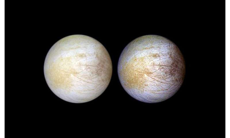 Table salt compound spotted on Europa
