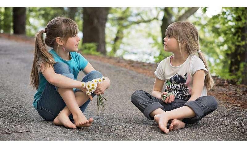 talking children
