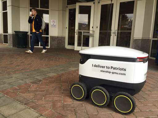 Technology of future delivers doughnuts of today on campus