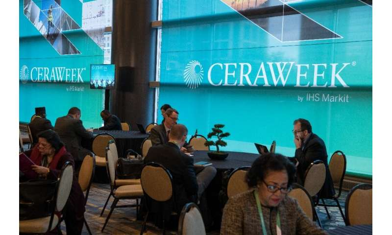 The annual CERAweek conference gathers thousands of energy industry professionals from around the world in Houston