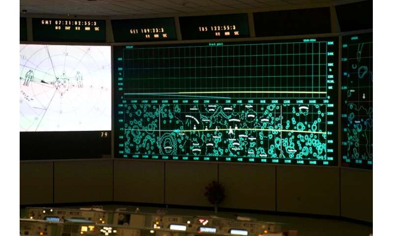 The Apollo Mission Control Room has been recreated at NASA's Johnson Space Center in Houston