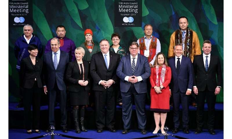 The Arctic Council groups Canada, Denmark, Finland, Iceland, Norway, Russia, Sweden, and the United States