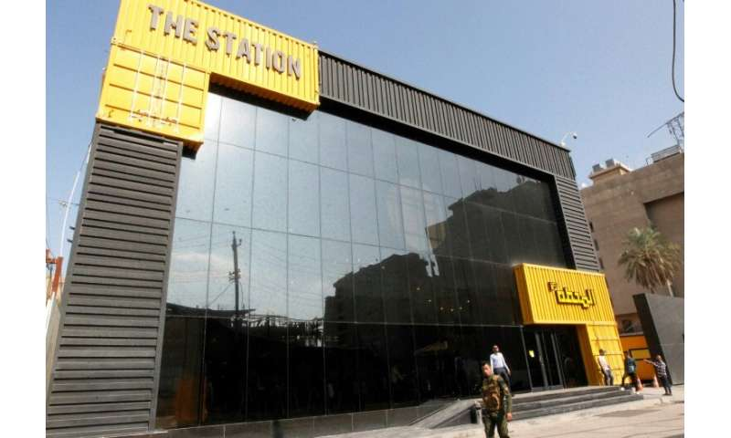 "The building in central Baghdad called ""The Station"" is where self-starters begin to create their own project in a cou"