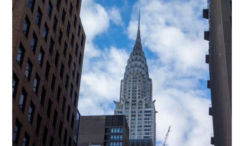 The Chrysler Building in midtown Manhattan is one of the most iconic buildings in the New York skyline