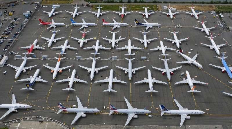 """La FAA n'a pas initialement mis à la masse les avions Boeing 737 MAX (photo de juin 2019), mais a plutôt publié un """"urgence"""" airw  Détendeur laxiste, culture d'entreprise descendante thefaadidnot"""
