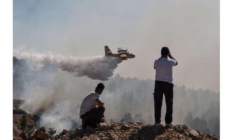 The fire in Evia has caused major damage to the 550-hectare wildlife habitat of Agrilitsa
