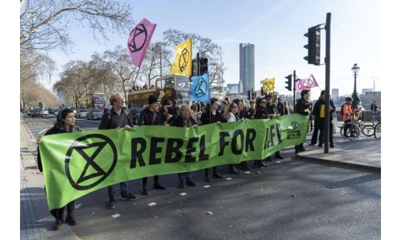 The fledging Extinction Rebellion movement, which started in London, has already spread across several dozen countries