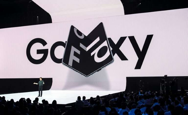 """The Galaxy Fold has been widely promoted as the """"world's first foldable smartphone"""""""