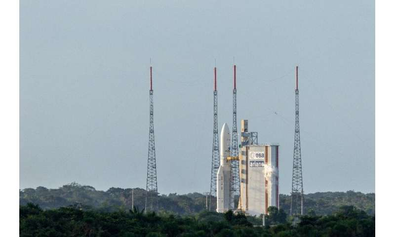 Vega rocket fails after takeoff in French Guiana