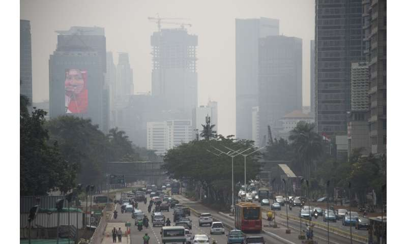 The Jakarta residents are fed up with what they say is worsening air pollution