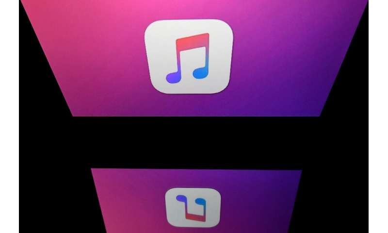 The logo of the iTunes app, which transformed the way people buy and listen to music after its launch in 2001