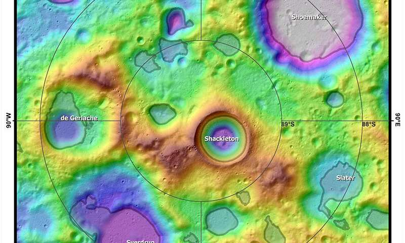 Lunar South Pole Atlas—a new online reference for mission planners