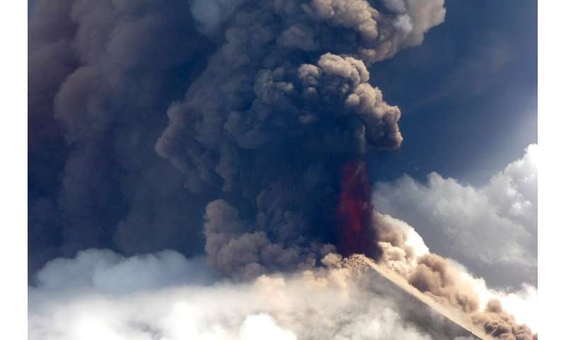 The Mount Ulawun volcano is one of the world's most hazardous