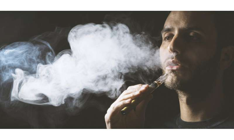 The nicotine in e-cigarettes appears to impair mucus clearance