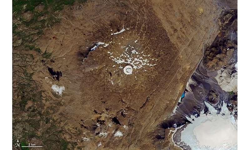 یخچال اوکوکول در ایسلند به دلیل تغییر آب و هوا ذوب شد