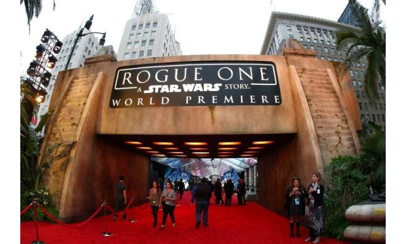 "The producers of ""Rogue One: A Star Wars Story,"" digitally recreated actors Peter Cushing and Carrie Fisher after thei"