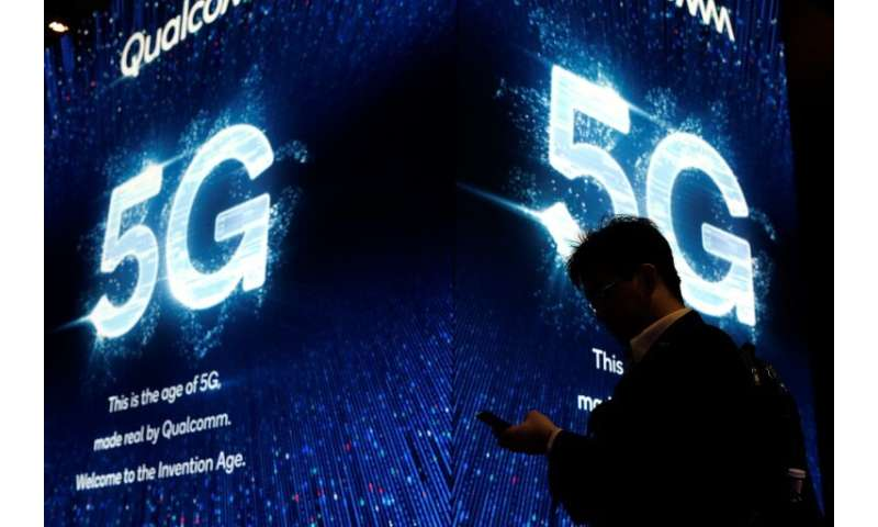 """There has been a transatlantic dispute over the supply of """"5G""""—""""fifth generation""""—the latest, high-speed gen"""