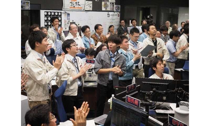 Japan's Hayabusa2 probe makes 'perfect' touchdown on asteroid