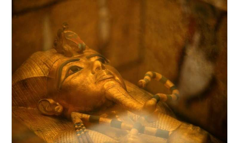 The tomb of Egypt's boy king Tutankhamun was discovered by British archaeologist Howard Carter in the Valley of the Kings near L