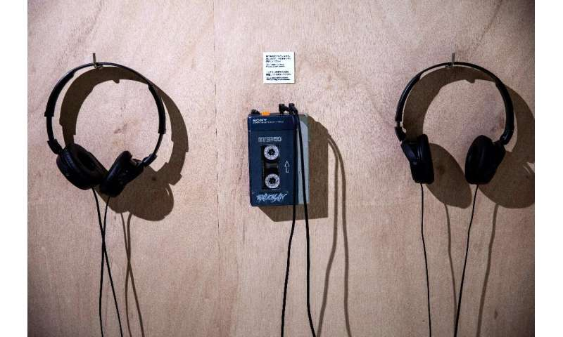 The TPS-L2 Walkman audio player, the first model to go on sale, had had two headset jacks—labelled 'guys' and 'dolls'—to allow t