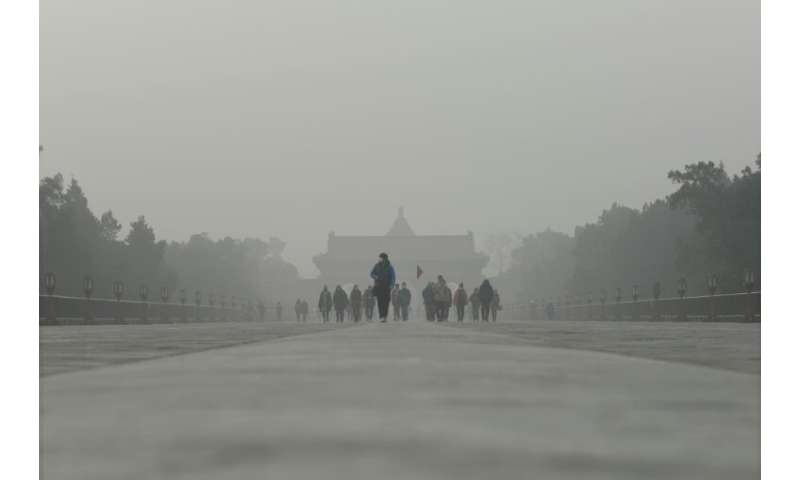 Thick smog clouds have plagued China's cities for years and represent the dark side of rapid development that has lifted hundred
