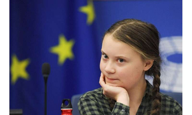 """Thunberg considers her condition of Asperger syndrome a strength because """"when I decide to do something, I do it without do"""