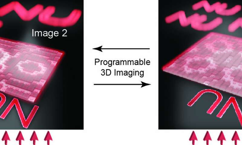 Tiny optical elements could one day replace traditional refractive lenses