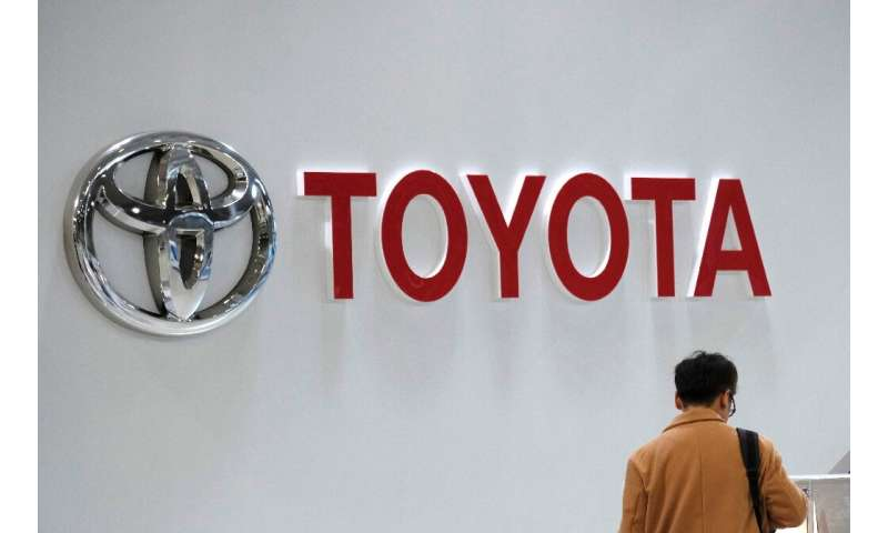 Toyota said its operating profit climbed 8.7 percent to 742 billion yen